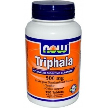 Добавка Now Foods Triphala 120 табл