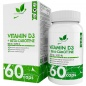 Витамины NaturalSupp vitamin D3+Beta-crotine  60 капс